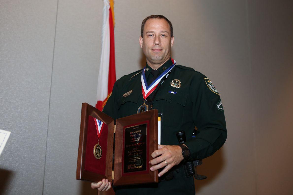 2016 LEOY winner Investigator Jayson Paul